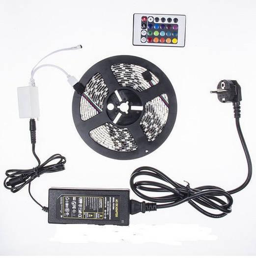 Светодиодная лента Running 5m RGB 12v