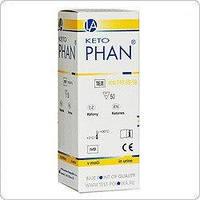 Тест-полоски Диафан (определение глюкозы и кетонов в моче)
