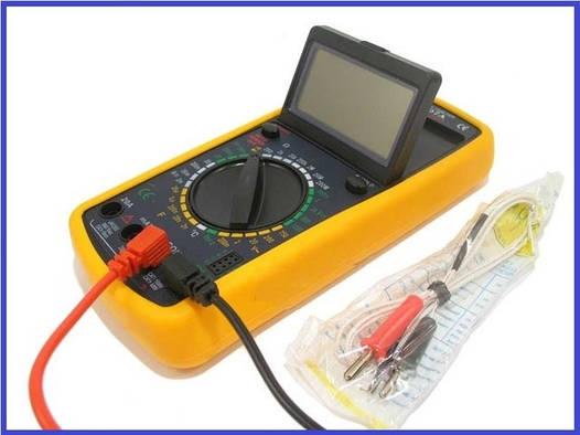 Цифровой тестер, мультиметр DT-9207