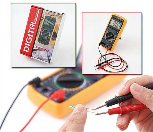 Цифровой тестер, мультиметр DT- 9205
