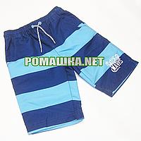 - 50% УЦЕНКА Детские шорты р. 122-128 для мальчика тонкие ткань 100% ПОЛИЭСТЕР 1035 Бирюзовый