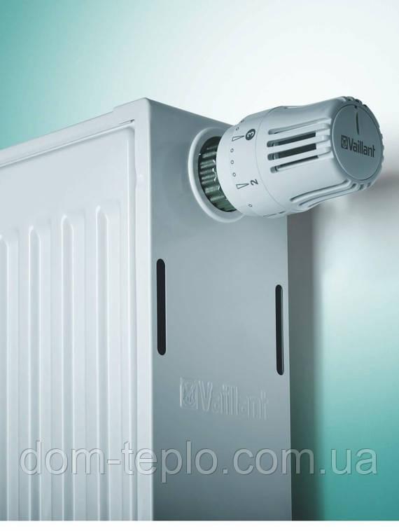 Радиатор 500x1400 Vaillant(Вайлант) стальной панельный 22 тип боковое подключение