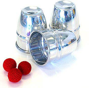 Cups and Balls (Mirror Polish AL) by Mr. Magic - Trick, фото 2