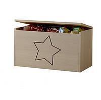 Ящик для игрушек гравированная звездочка Baby Boo 100096