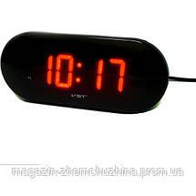 Часы электронные VST-717-1 красные, фото 3