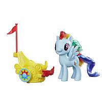 Игровой набор Hasbro MLP Пони в карете Rainbow Dash (B9159-B9835)