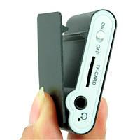 Плеер МП3 MP3 металлический с экраном и клипсой