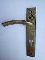 Ручка на планке TRION COBO A.Bronze 85мм