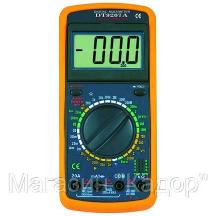 Мультиметр DT-9207A, фото 2