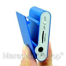 Плеер МП3 MP3 металлический с экраном и клипсой, фото 2