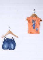 Костюм для девочки майка и шорты