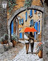 Картины по номерам 40×50 см. Объятия под аркой Художник Гвидо Борелли