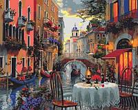 Картины по номерам 40×50 см. Венеция Художник Доминик Дэвисон