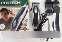 Машинка PRITECH PR 1270, машинка с насадками для стрижки волос