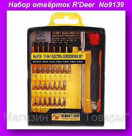 Набор отвёрток R'Deer A25-6 No9139, Набор Инструментов No9139!Опт, фото 2
