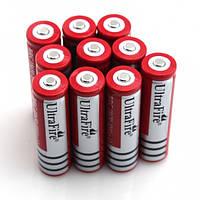 Аккумулятор литиевый 18650 Ultrafire 3.7V с защитой GREY