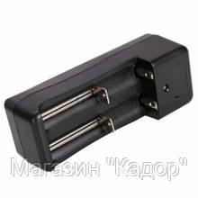 Зарядное устройство для аккумуляторов Double Charger Li-Ion 14500/18650 (дорожное)