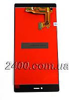 Тачскрін + дисплей Huawei P8 - модуль Huawei P 8 (Хуавей Р8) чорний