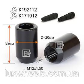 Гайка DHE20A30 BA-Cr M12X1,50