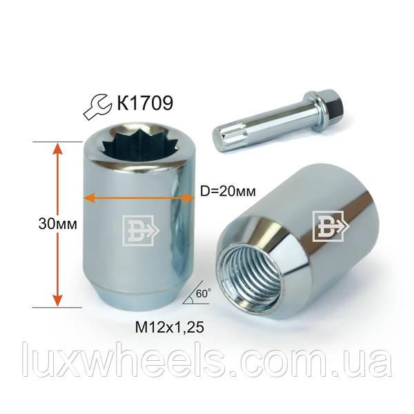 Гайка  DST20B30 Cr M12X1,25
