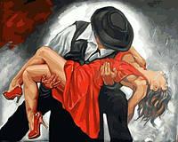 Раскраски для взрослых 40×50 см. Танец страсти Художник Донка Начева, фото 1