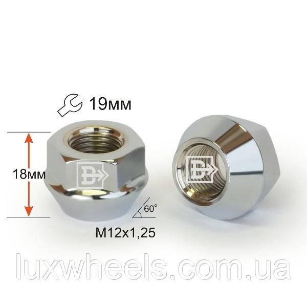 Гайка D61 Cr  M12X1,25