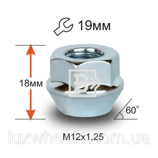 Гайка D61 Z M12X1,25