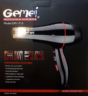 Фен GEMEI GM-1713 NEW 3000W