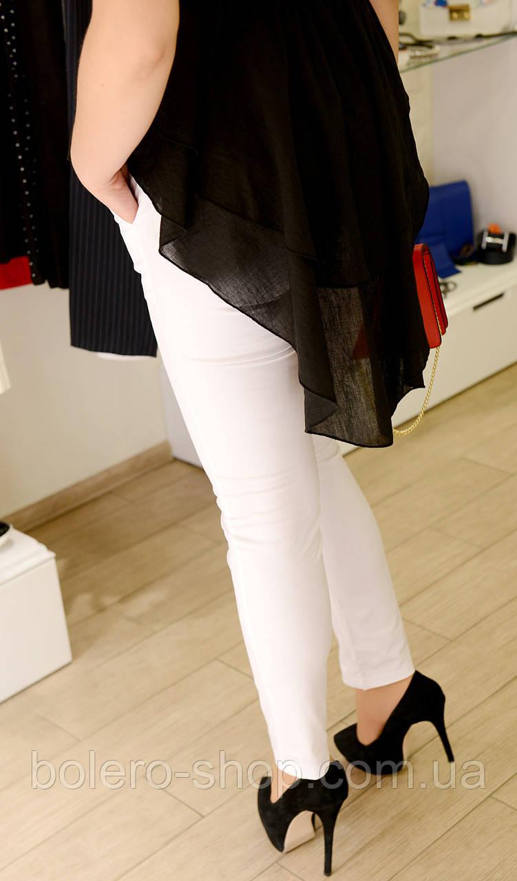 Женские брюки белые  брендовые Италия