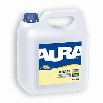 Aura Unigrund Kraft 10 л - Универсальный укрепляющий грунт глубокого проникновения