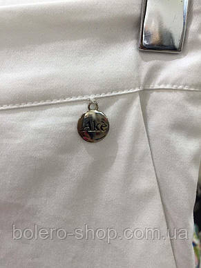 Женские брюки белые  брендовые Италия, фото 2