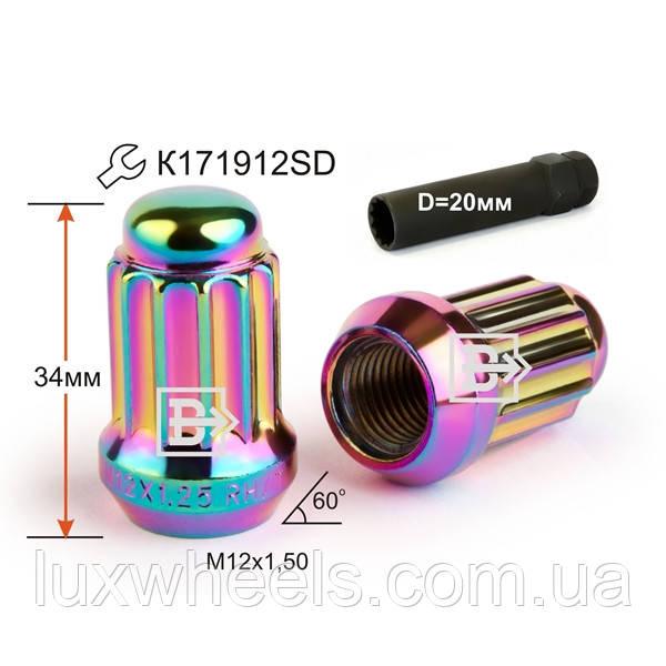 Гайка  M12X1,50