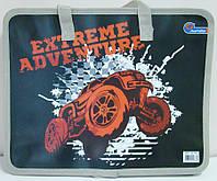 Папка-портфель пластиковый, на молнии, с ручками Extreme Adventure