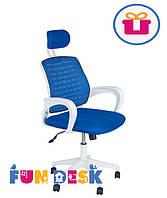 Детское компьютерное кресло FunDesk LST5 Blue