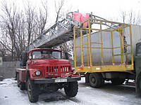 Аренда автовышки 30 м (Вездеход АЛ30(131)