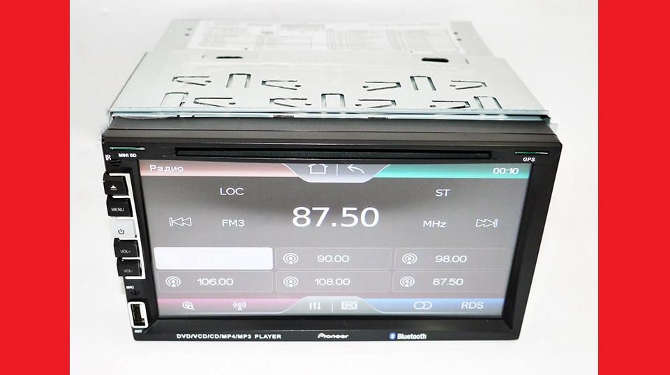 "2din Pioneer PI-803 7"" экран GPS-Mp3-Dvd-Tv/Fm-тюнер(copy)"