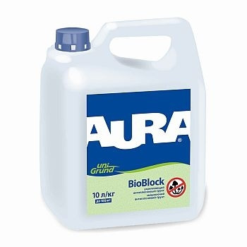 Aura Unigrund Bioblock 1 л - Зміцнюючий антиплесневый грунт