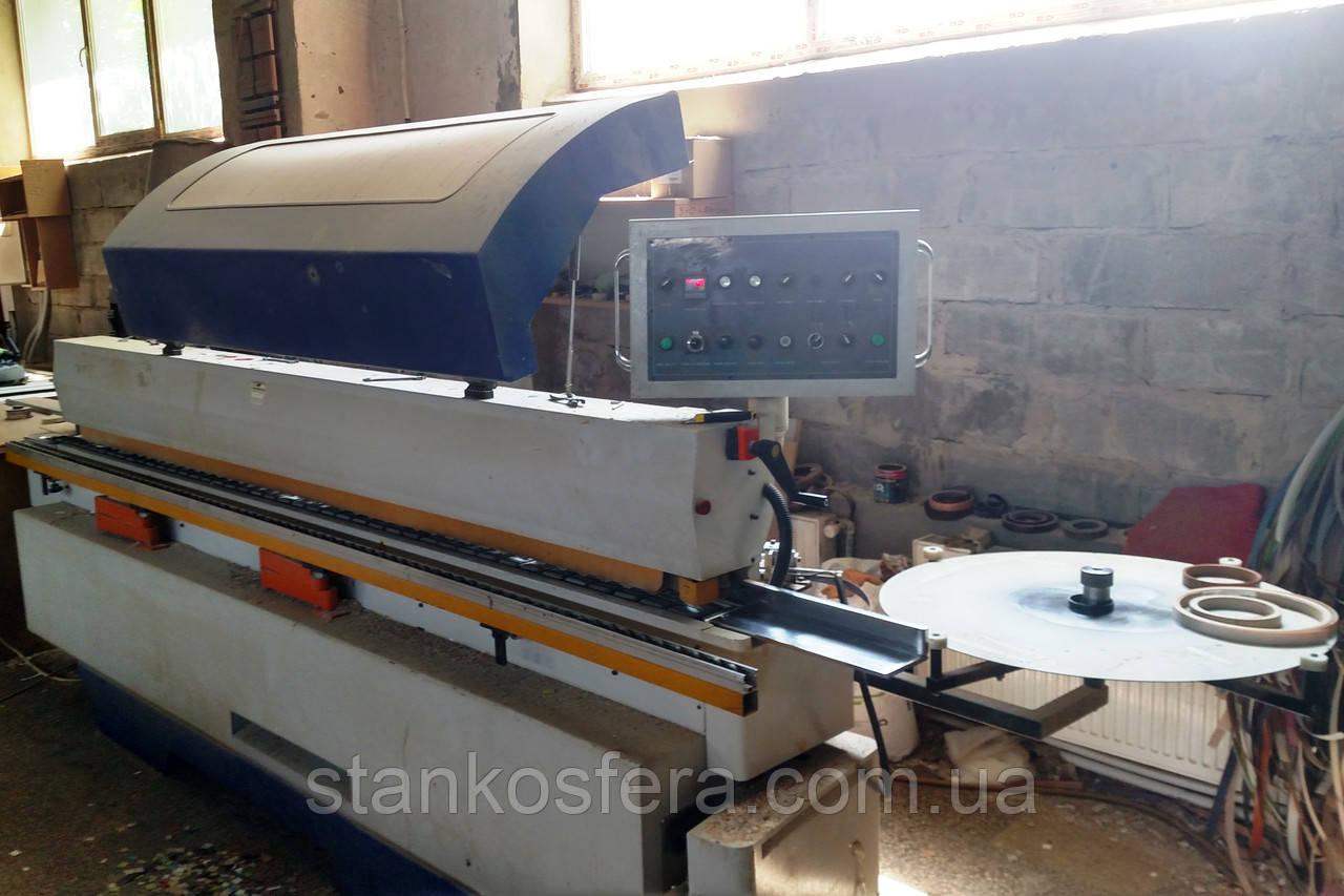 Кромочный станок Filato FL-430 б/у (Китай) проходной до 20 м/мин
