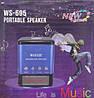 Портативная FM MP3 колонка WSTER WS-695