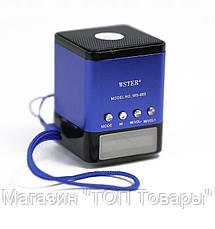 Портативная FM MP3 колонка WSTER WS-695, фото 2