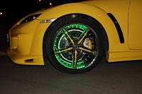Подсветка колес светодиодной лентой DIP