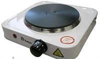Электроплита дисковая Domotec HP-100 А, электроплита 1 конфорочная настольная