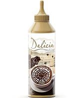 Топпинг Delicia Шоколадный соус для латте-арт 600 гр