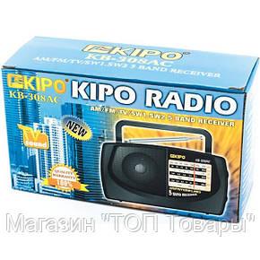 Радиоприемник KIPO RADIO KB 308 AC, фото 2