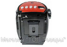 Радиоприемник с фонариком Golon RX-678 USB+SD, колонка радиоприемник golon, компактное радио для дома и дачи, фото 2