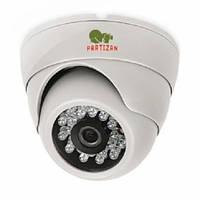 Partizan CDM-223S-IR HD v3.2 видеокамера купольная с фиксированным фокусом и ИК подсветкой