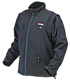 Аккумуляторная куртка с подогревом Makita DCJ 200 Z2XL