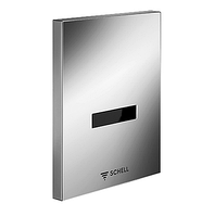 Сенсорная панель для смыва писсуара SCHELL EDITION батарея 9 V, пластик, хром 028060699