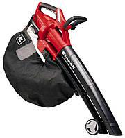 Пылесос садовый аккумуляторный 2*18 В  (без акк), выдув 210 км/ч, всас. 13,5 м3/ч, мешок для мусора 45 л