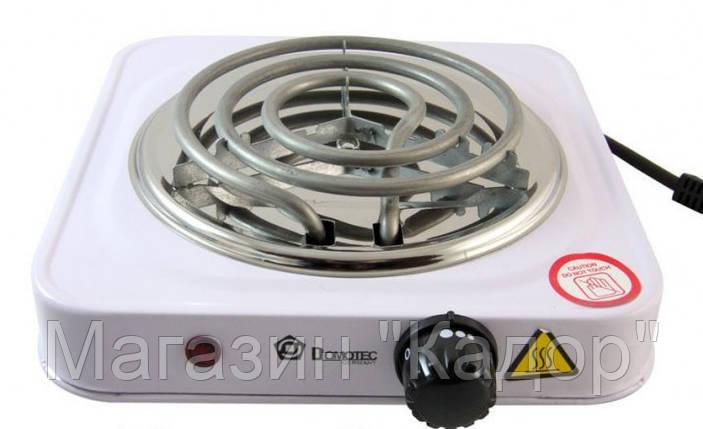 Электроплита Domotec HP-100, фото 2